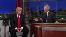 Donald Trump on the Late Show Donald Trump with David Letterman Donald Trump Interview