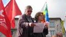 Manifestation contre les retraites