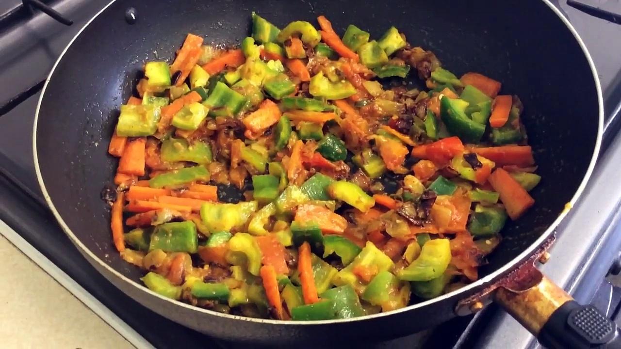 Healthy option – Prawn Stir Fry