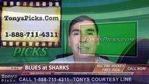 St Louis Blues vs. San Jose Sharks Pick Prediction NHL Playoffs Game 3 Odds Preview