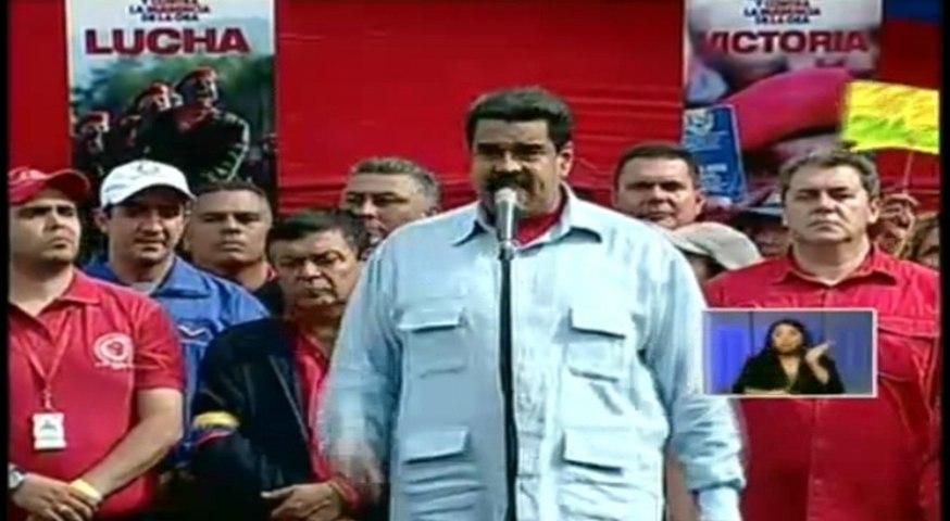 Maduro dice que Almagro ha pedido la intervención de Venezuela