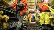 Spectaculaire chantier ferroviaire entre Montmoreau et Bordeaux (vidéo Renaud Joubert)