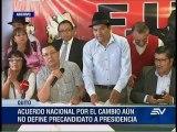 Reacciones Enrique Ayala Mora