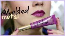 Metallic Lips - Drugstore Makeup Tutorial Using Affordable Brushes 2016