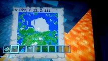 Minecraft PS4: Nether Portal Spawn Seed (Minecraft
