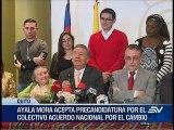 Enrique Ayala Mora anuncia su precandidatura presidencial