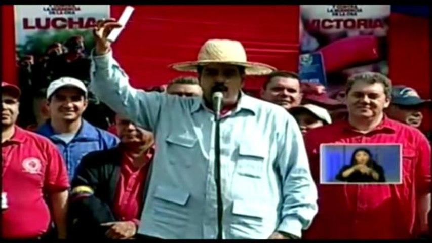 Maduro reacciona ante la Carta Democrática impulsada por Almagro