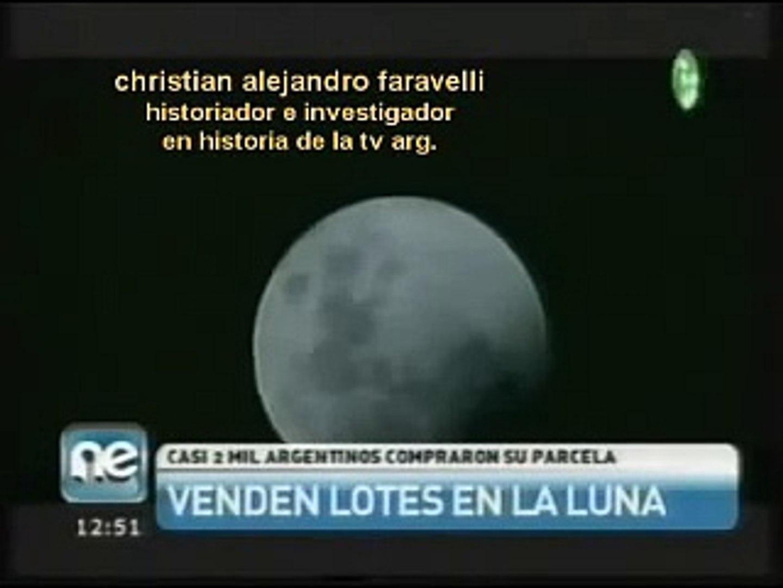HISTORIA DE LA TV ARGENTINA: 2000 ARGENTINO COMPRAN EN LA LUNA /27-07-2011/