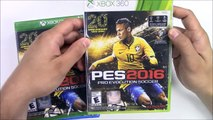 PES 2016 (Pro Evolution Soccer) (PS4_PS3_XBox One_Xbox 360) Unboxing !