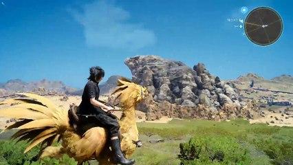 Ballade à dos de chocobo de Final Fantasy XV