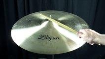 """Zildjian 22"""" Avedis Ping Ride - 3623 grams"""