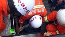 Un réparateur englouti par un escalator en Chine