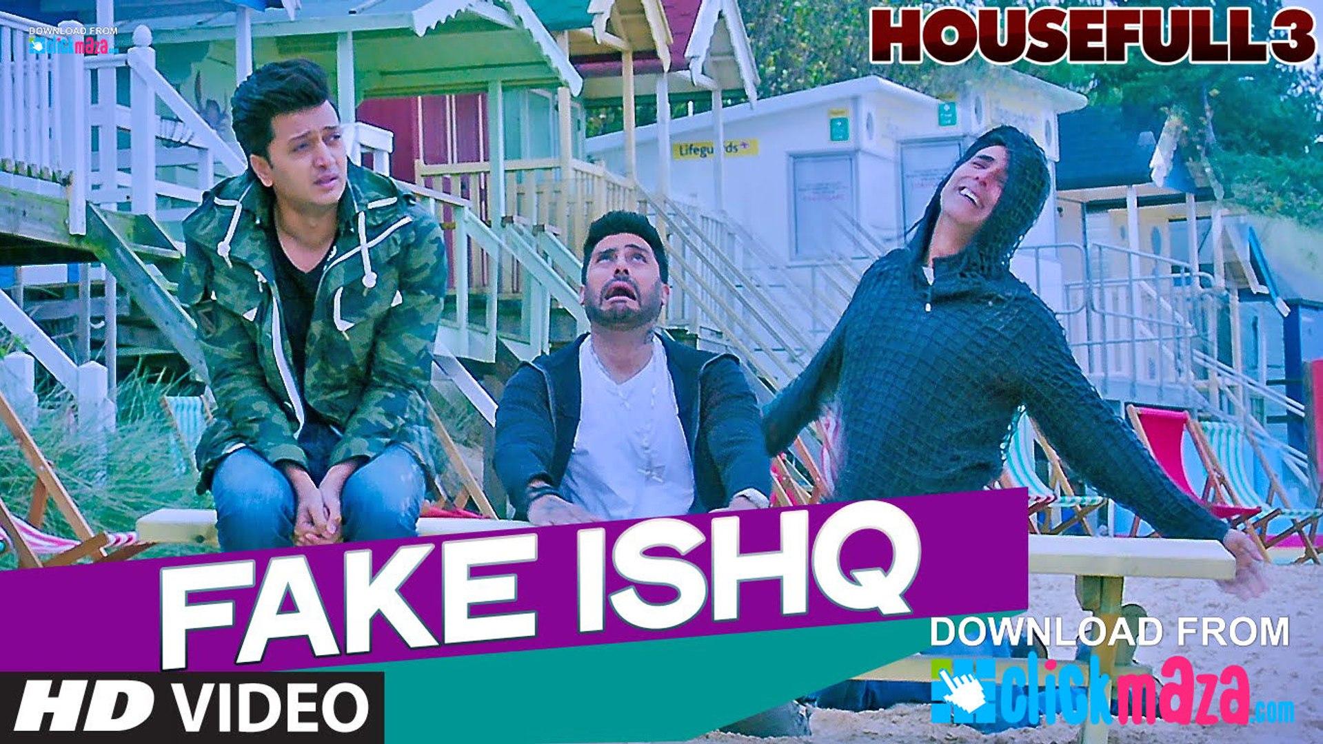 FAKE ISHQ - HD Video Song - HOUSEFULL 3 - Akshay Kumar, Abhishek Bachchan,  Riteish Deshmukh - 2016