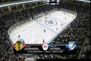 NHL 09 Be A Pro: Chicago at Tampa, NHL Game 24