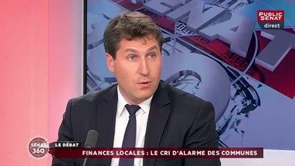 Mathieu Darnaud invité de Public Sénat à l'occasion du Congrès des Maires de France