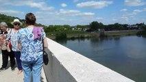 Sur le Pont Canal à Agen