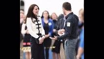 Kate Middleton visits Ben Ainslie Racing in Portsmouth