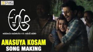 Anasuya Kosam Song Making A Aa Movie Nithin Samantha Trivikr