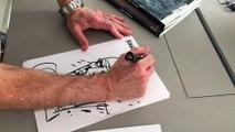 Charlie Adlard pour les 30 ans des éditions Delcourt