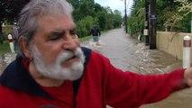 INONDATIONS: routes coupées, maisons sinistrées, école évacuée