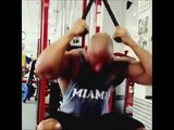 The Rock Workout Training in Budapest, Hercules Dwayne The Rock Johnson´s Turbine from Hell
