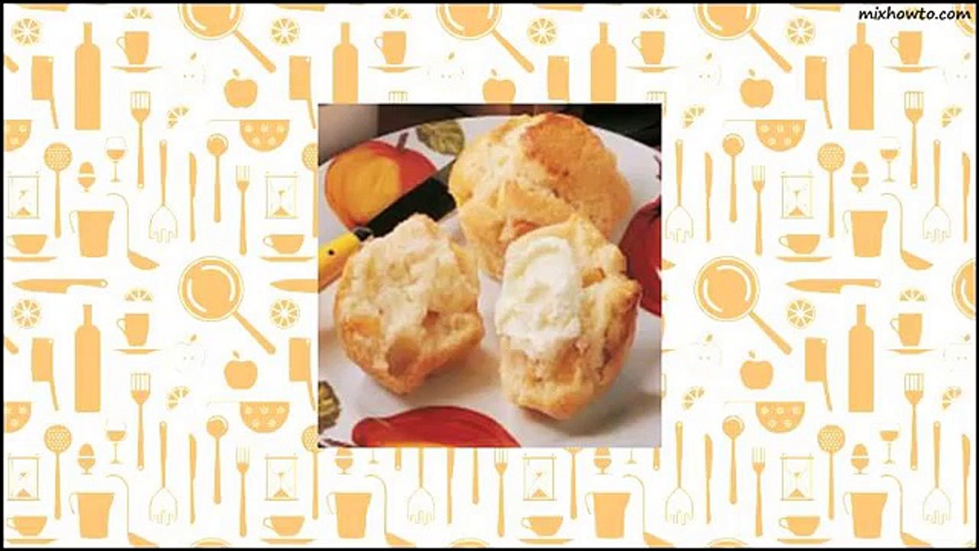 Recipe Peaches and Cream Muffins Recipe