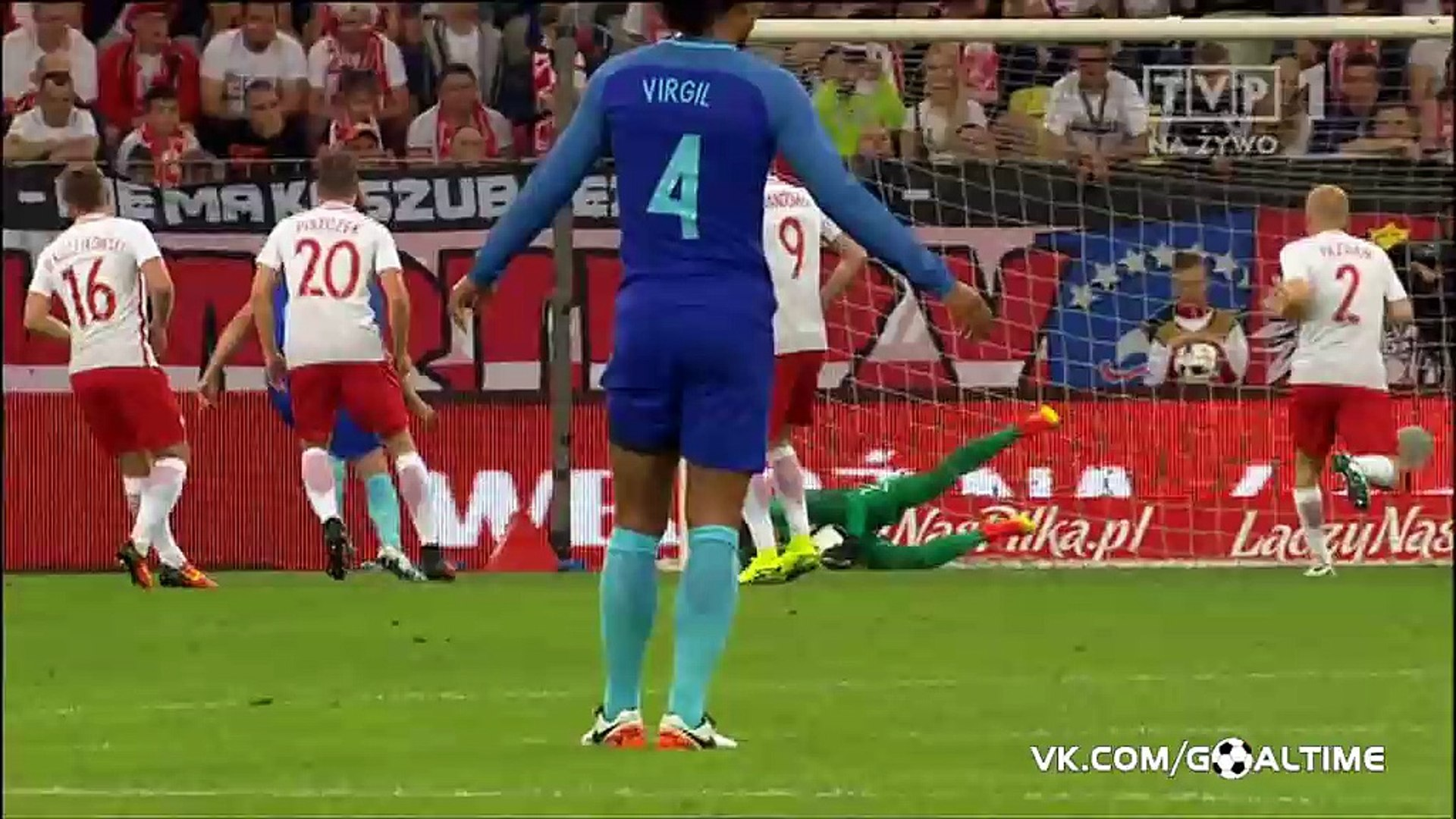 Poland 1-2 Netherlands -All Goals & Extended Highlights HD-01-06-2016