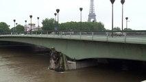Intempéries/Paris: une partie des voies sur berges a été fermée