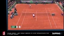 Roland Garros: Andy Murray remporte un point extraordinaire face à Richard Gasquet (vidéo)