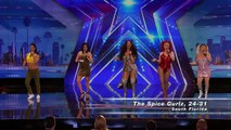 The Spice Gurlz Five Guys in Drag Try Recreate the Spice Girls' Magic America's Got Talent 2016