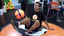 Colombian Football Juggler