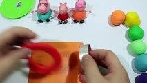 플레이도우 만들기 Play Doh - Create Clay Biscuit VS Cookie Rainbow With Peppa Pig