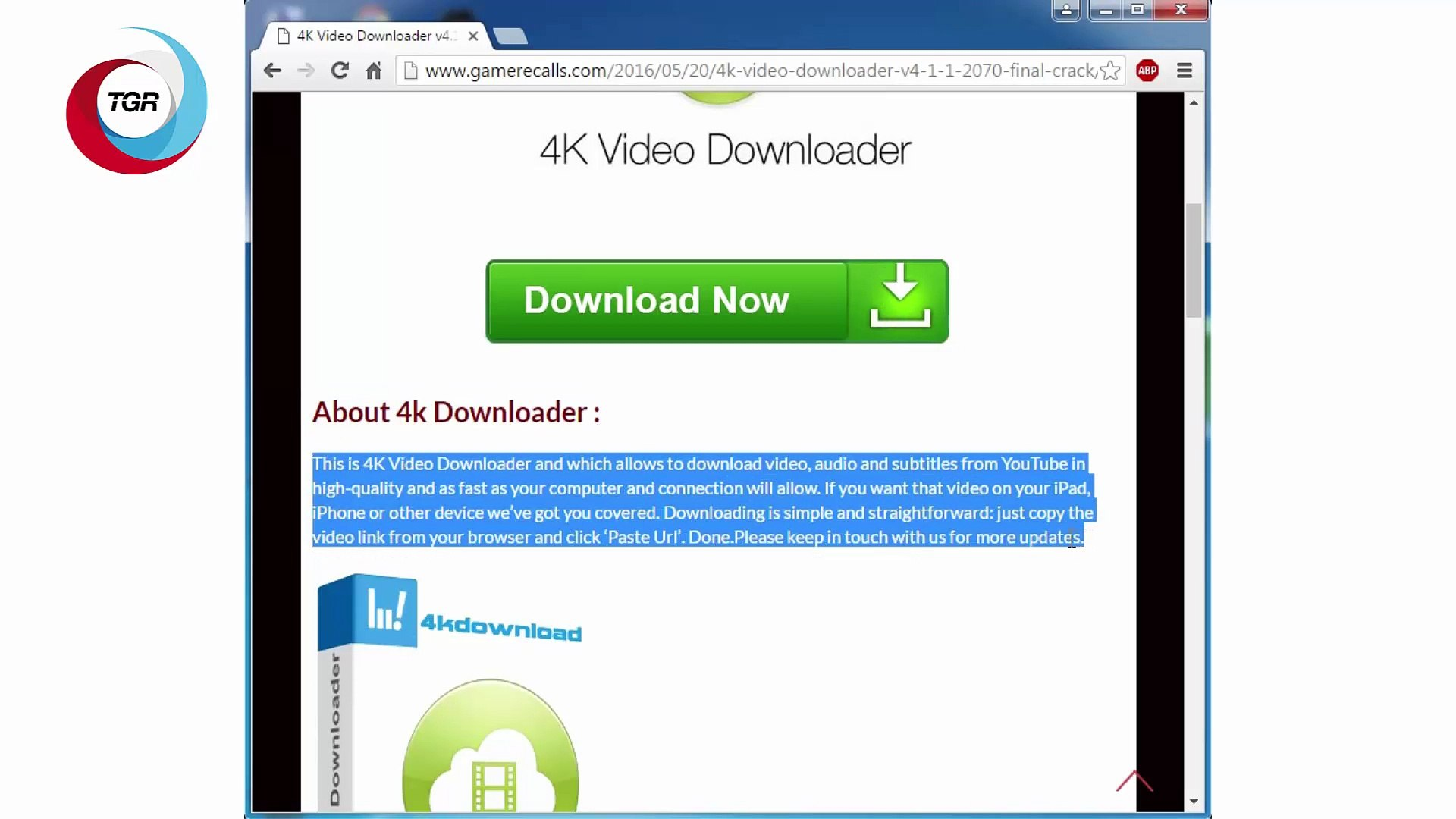 4K Video Downloader v4 1 1 2070 Final PLus Crack