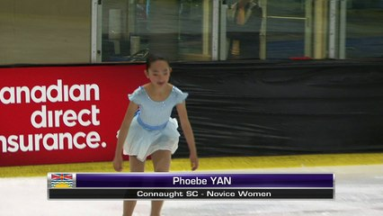 Phoebe Yan - Novice Free - 2016 Super Series VISI - Rink 1 (Meeker)