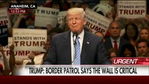 Donald Trump - Build that wall! Build that wall! Build that wall! Build that wall!