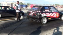 Ford Fiesta RS Turbo Vs. Honda Civic VTI Turbo