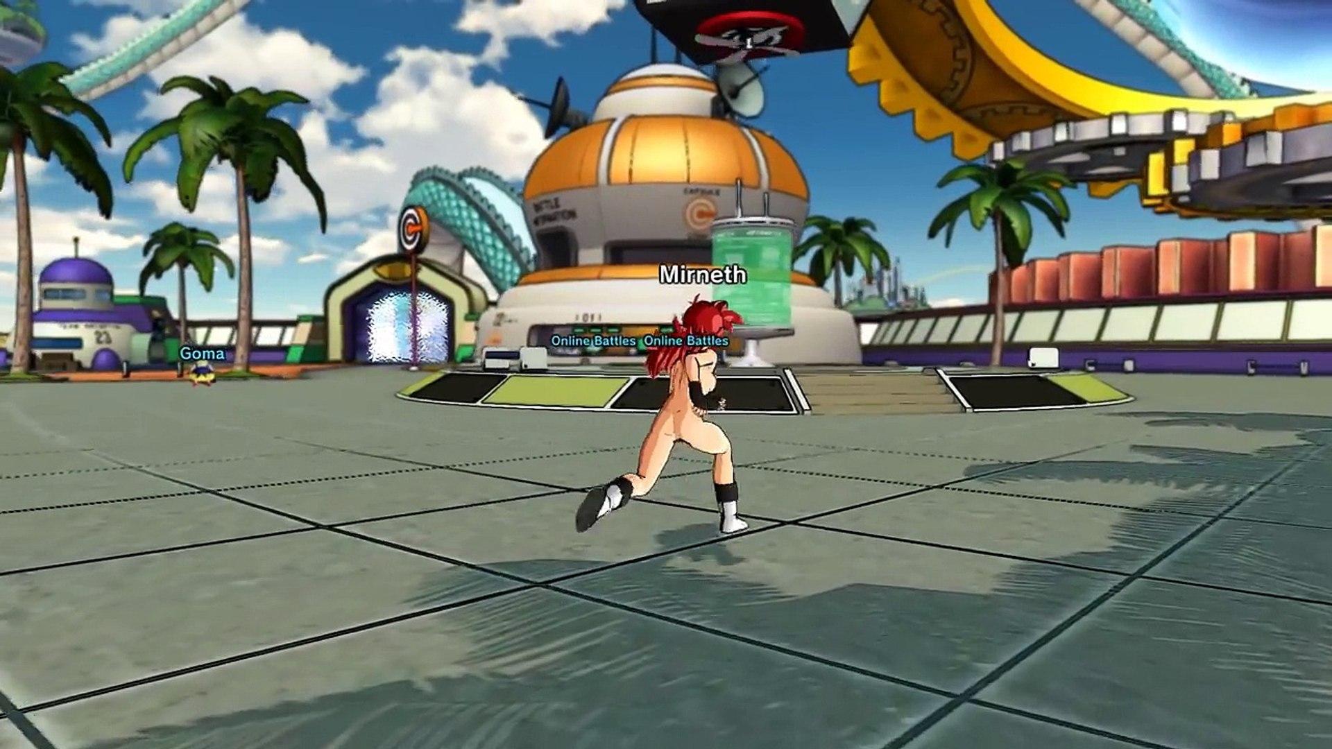[GamePlay] Dragonball Xenoverse Nude Mod