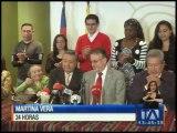 Enrique Ayala Mora aparece como nuevo precandidato presidencial