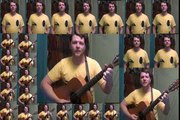Her Majesty (BEATLES COVER) Munson Choir - 26 Take Acoustic Guitar - Vocals