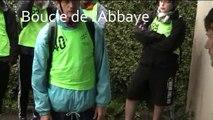 Raid Acad Caen. Boucle de l'abbaye. LYCEES. Mortain 2016.