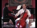 Tchaikovsky Rococo Variations, theme, variations 1 and 2