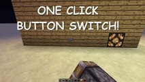 Minecraft Redstone tutorial l Button light switch l 1.8.1+ l HD l [Easy Tutorial]
