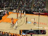 NBA 2k11 (NCAA mod) Tennessee Thompson-Boling Arena court