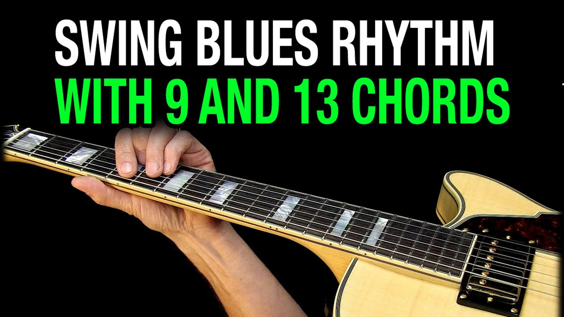 Swing Blues Chords Guitar Lesson E15 A15 B15