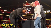 Asuka and Nia Jax sign their TakeOver contract  WWE NXT, June 1, 2016