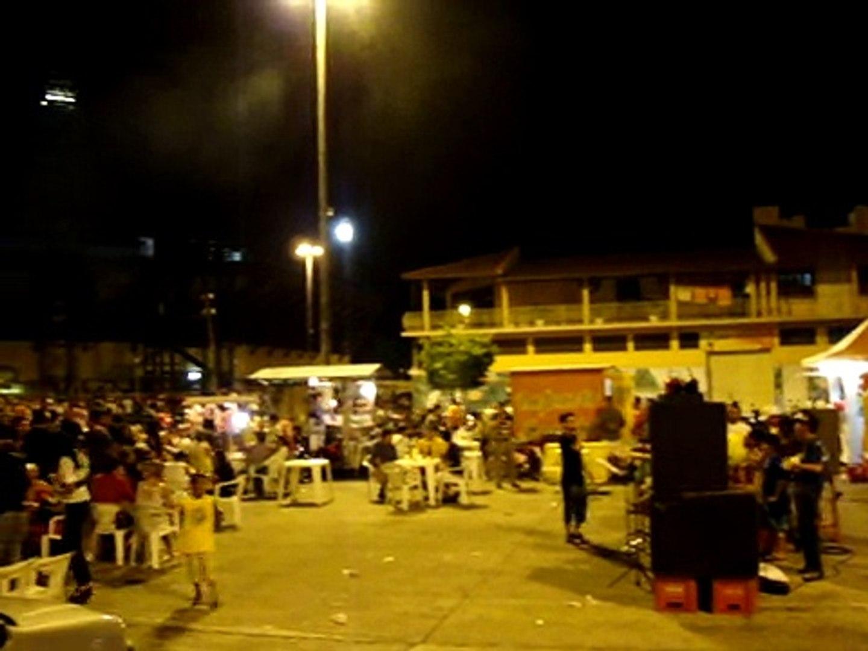 Pagode na Praça dos Bois em Parintins 23 05 09