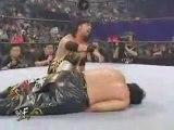 X-Pac vs Tajiri Titles for Titles Championship Unification Match WCW Cruiserweight Championship and WWF Light Heavyweight Championship SummerSlam 2001