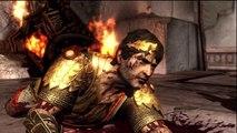 God of War III - Kratos arrache la tête d'Hélios