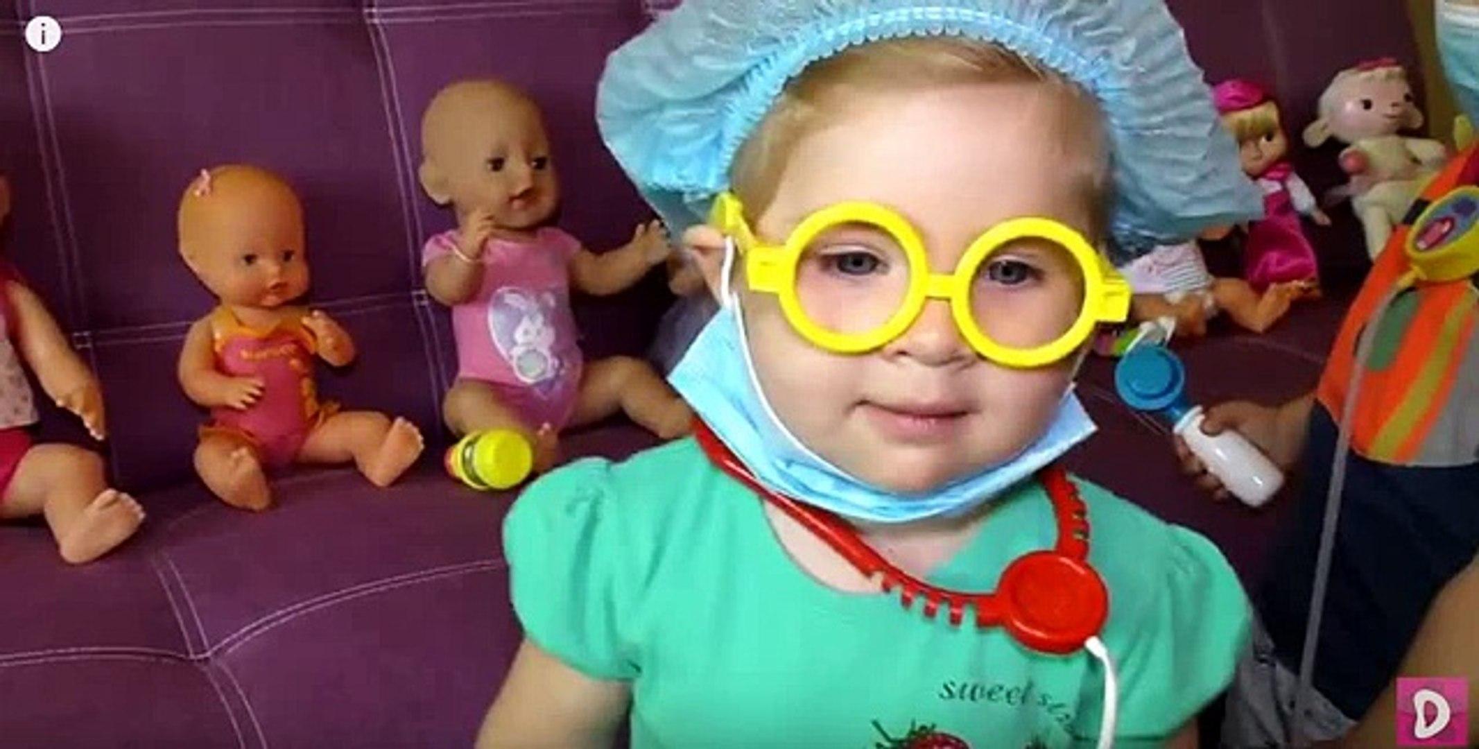 ✿ ДОКТОР ДИАНА Лечит Ветрянку Набор Свинка Пеппа Доктор Игры Peppa Pig Doctor Hospital Toys Unboxing