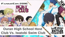 2016 Fanime Masquerade: Epic Rap Battles Of Anime (Ouran High School Host Club Vs. Iwatobi Swim Club)